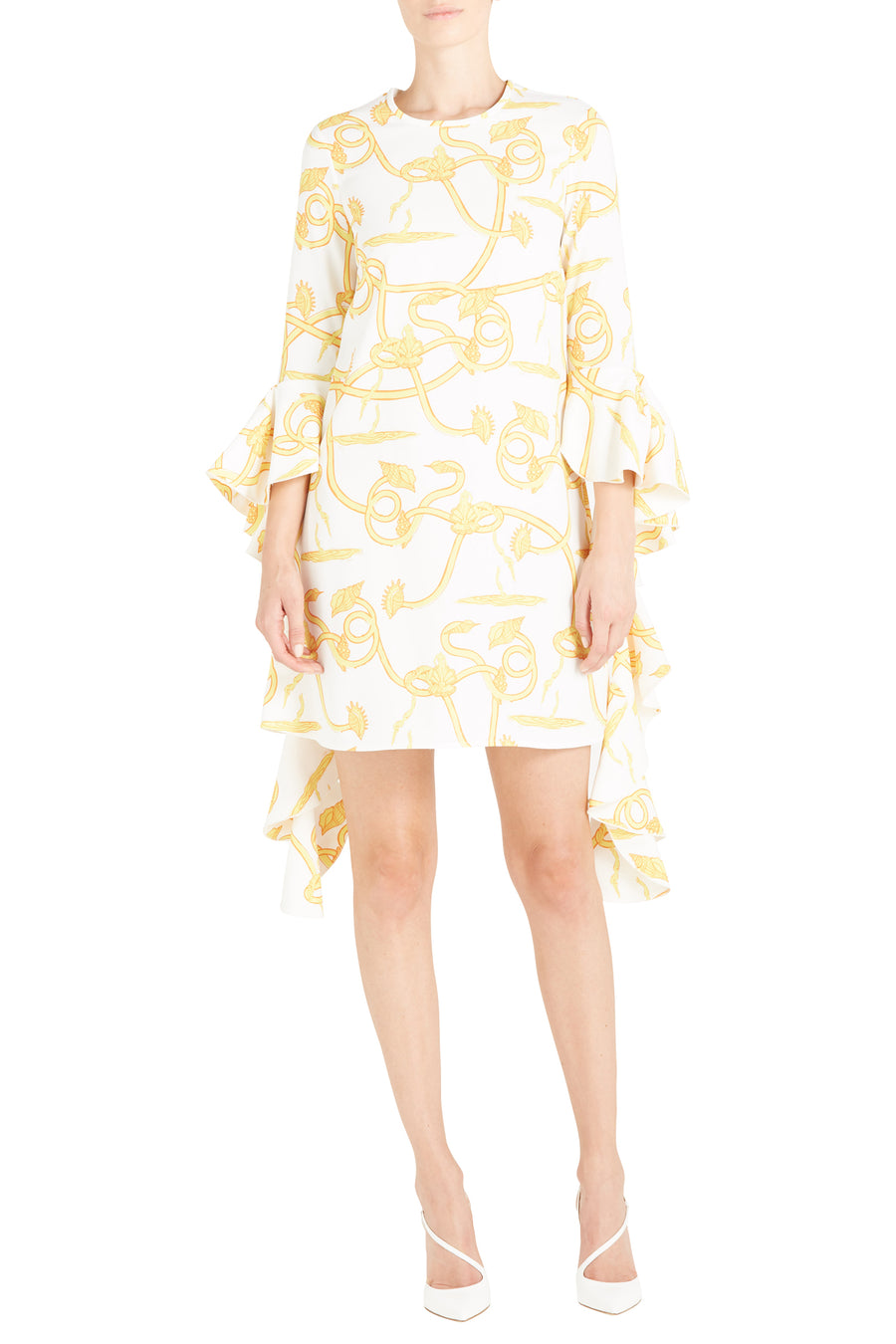 KILKENNY FRILL SLV MINI DRESS