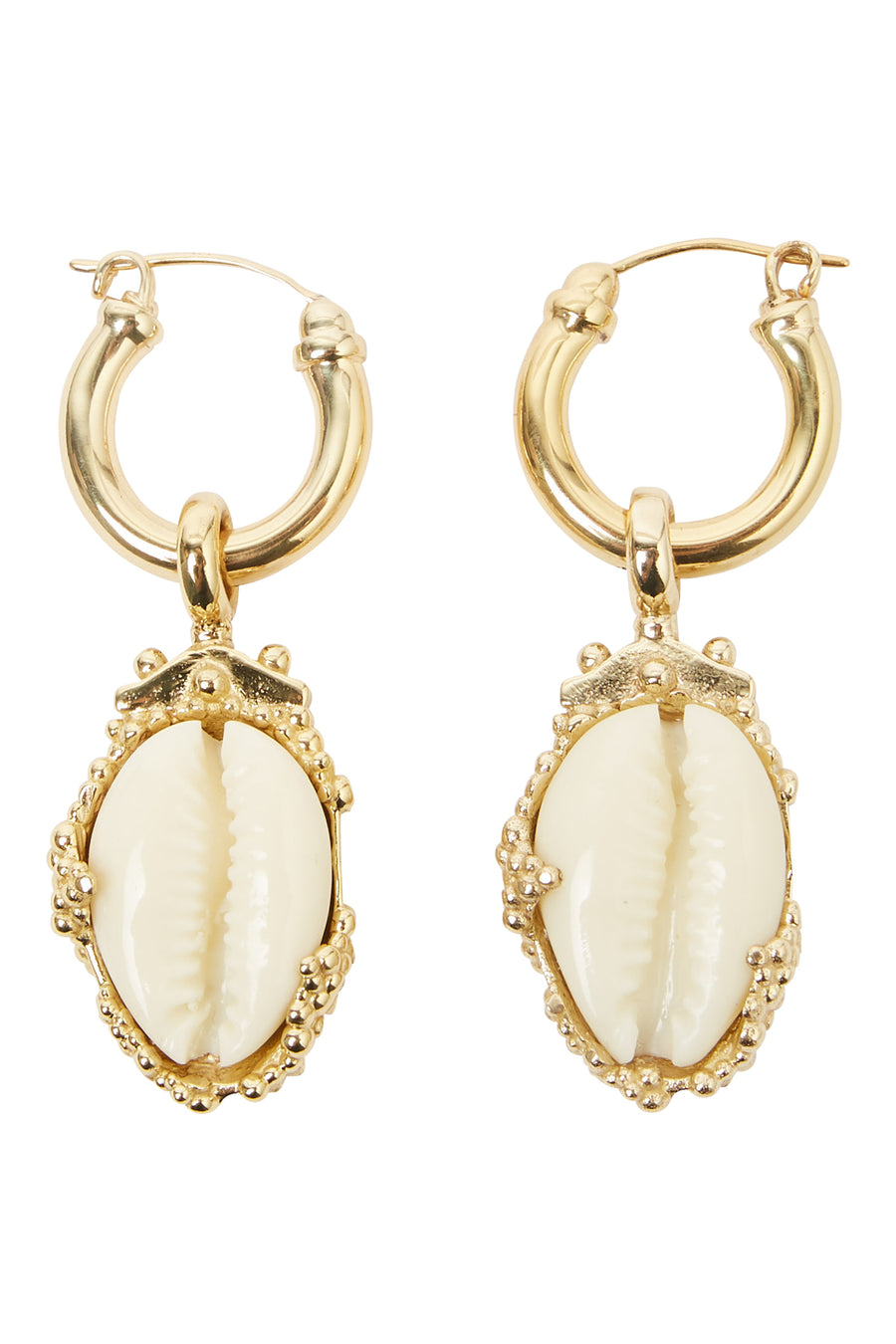 ROSALIND SMALL SHELL EARRING