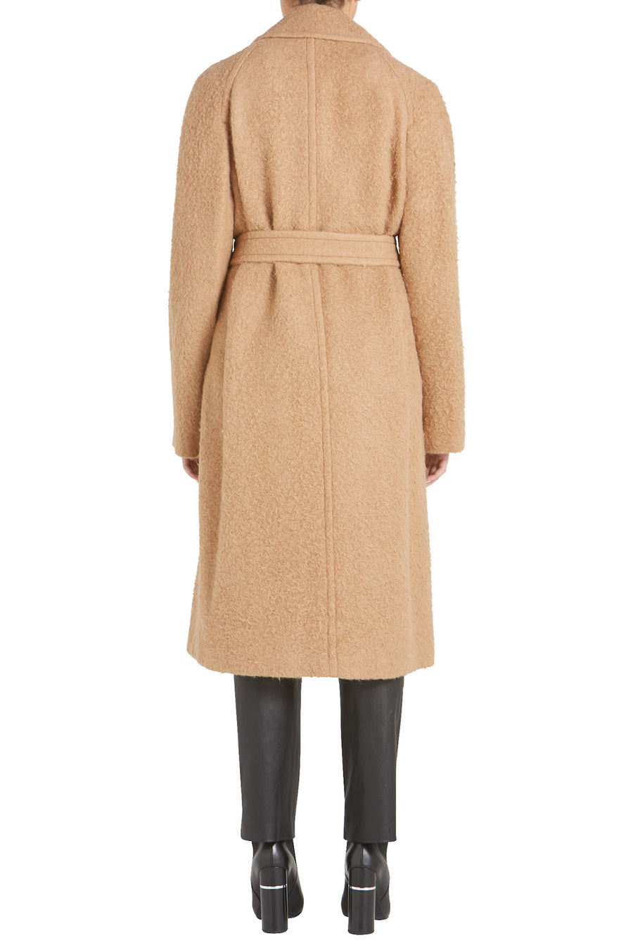 NAPPY WOOL COAT