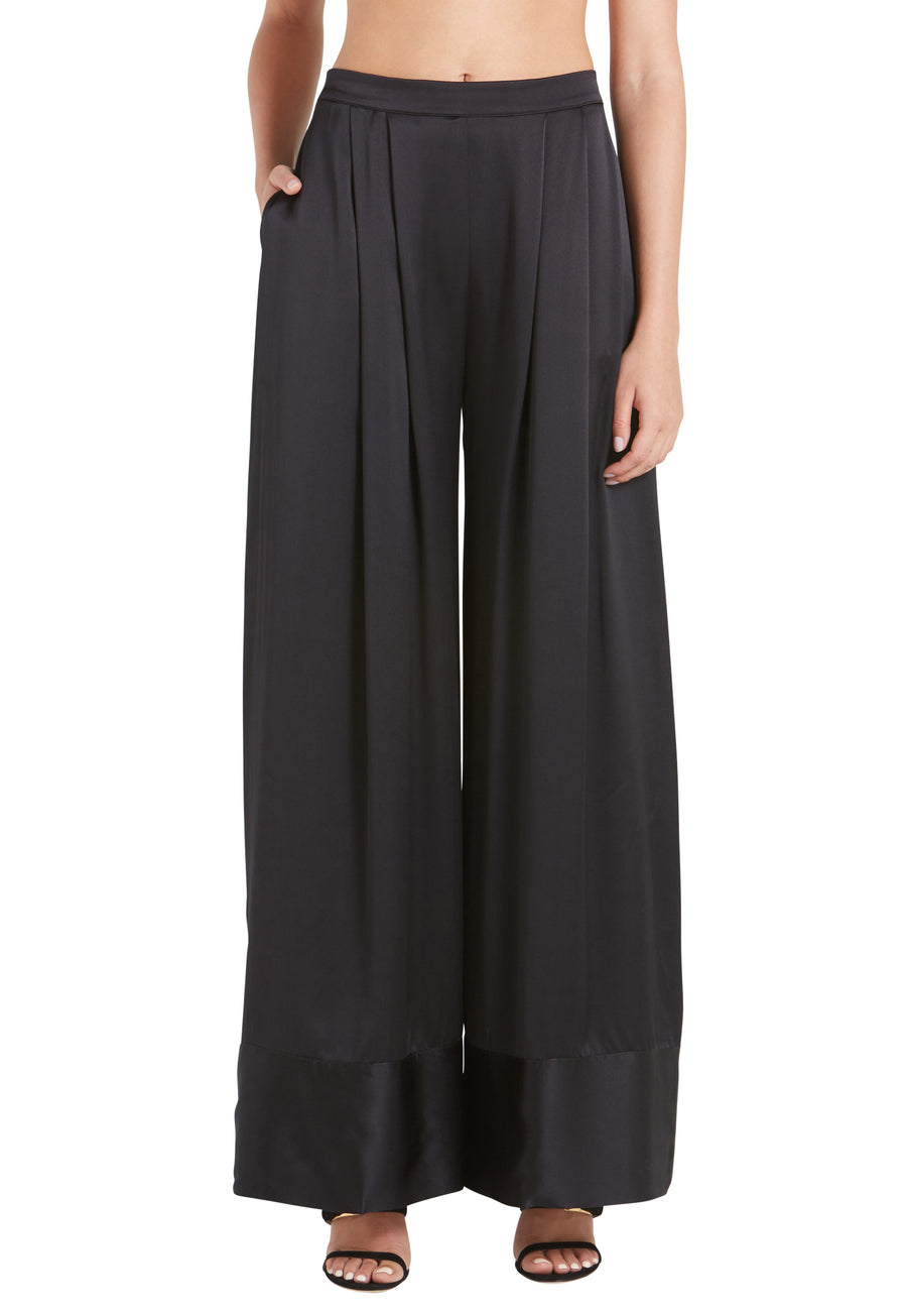 SUPER WIDE LEG RELAXED TROUSER