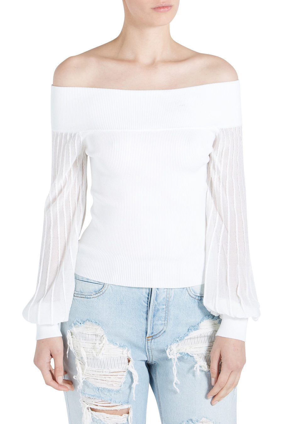 PATRICIA OFF SHOULDER TOP