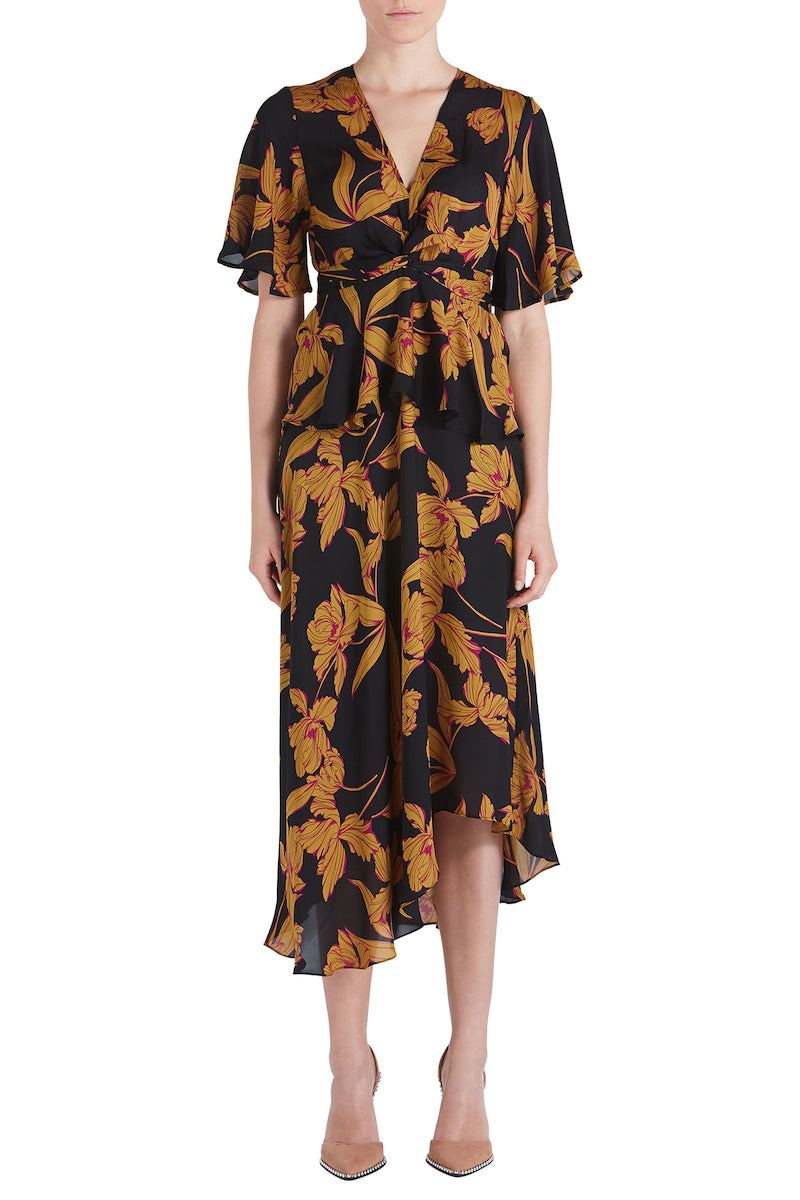 A.L.C. Women's Avi Twist Front Dress from The New Trend