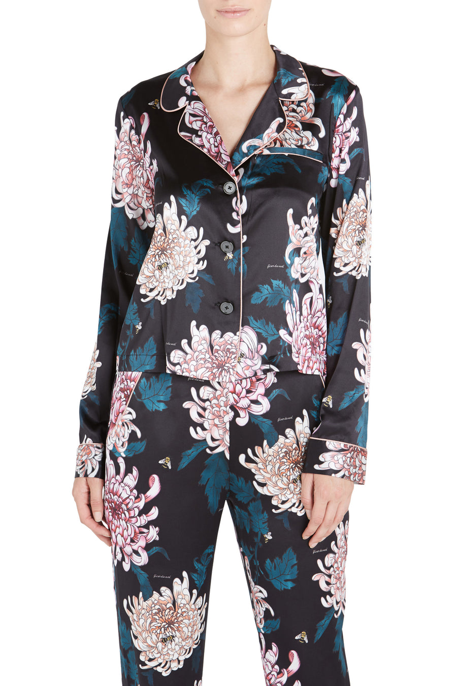 PRINTED LONG SLEEVE PYJAMA