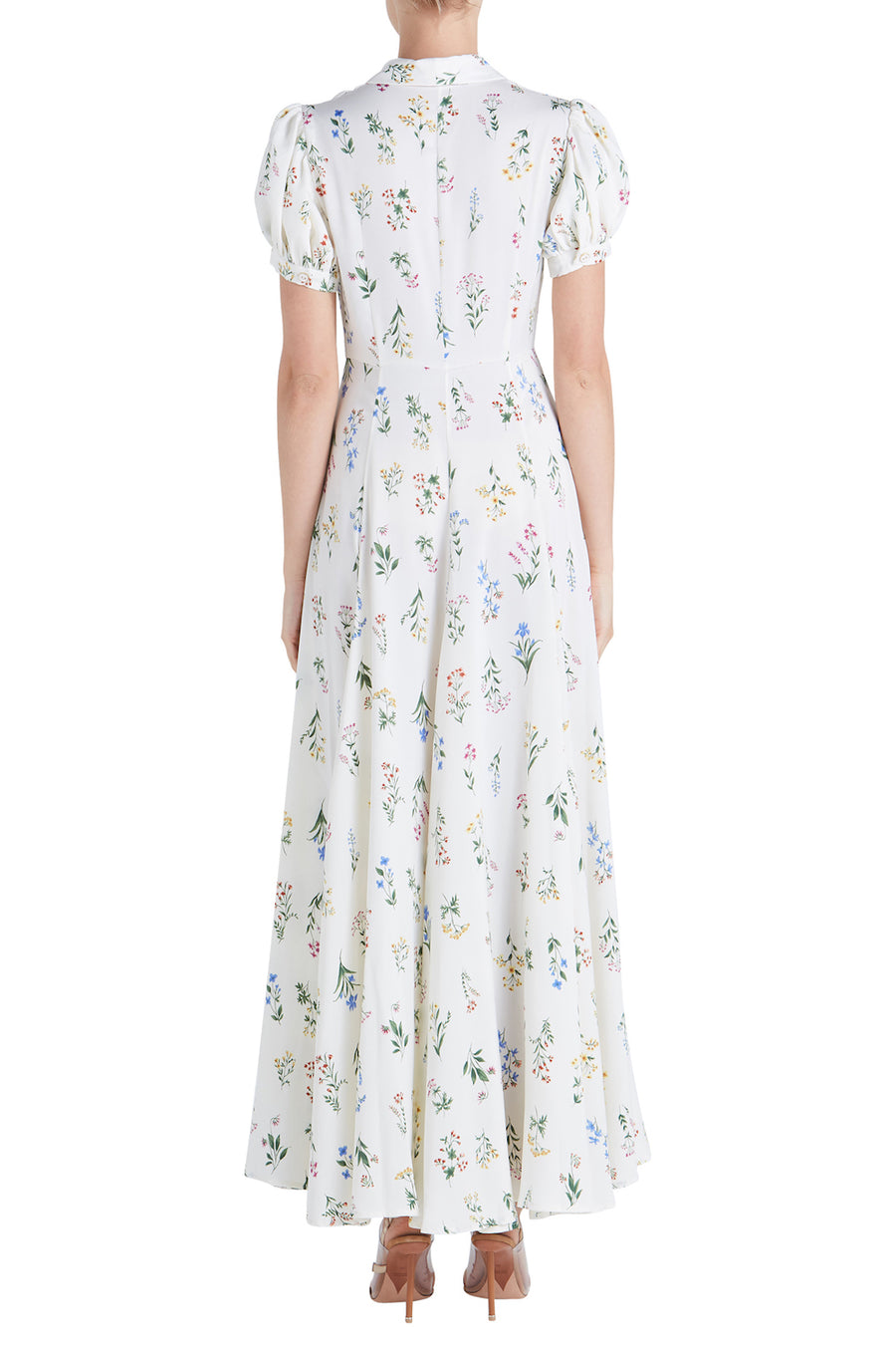 BEL S/S PRINTED MAXI DRESS