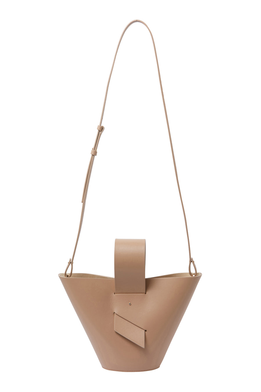 AMPHORA LEATHER TOTE