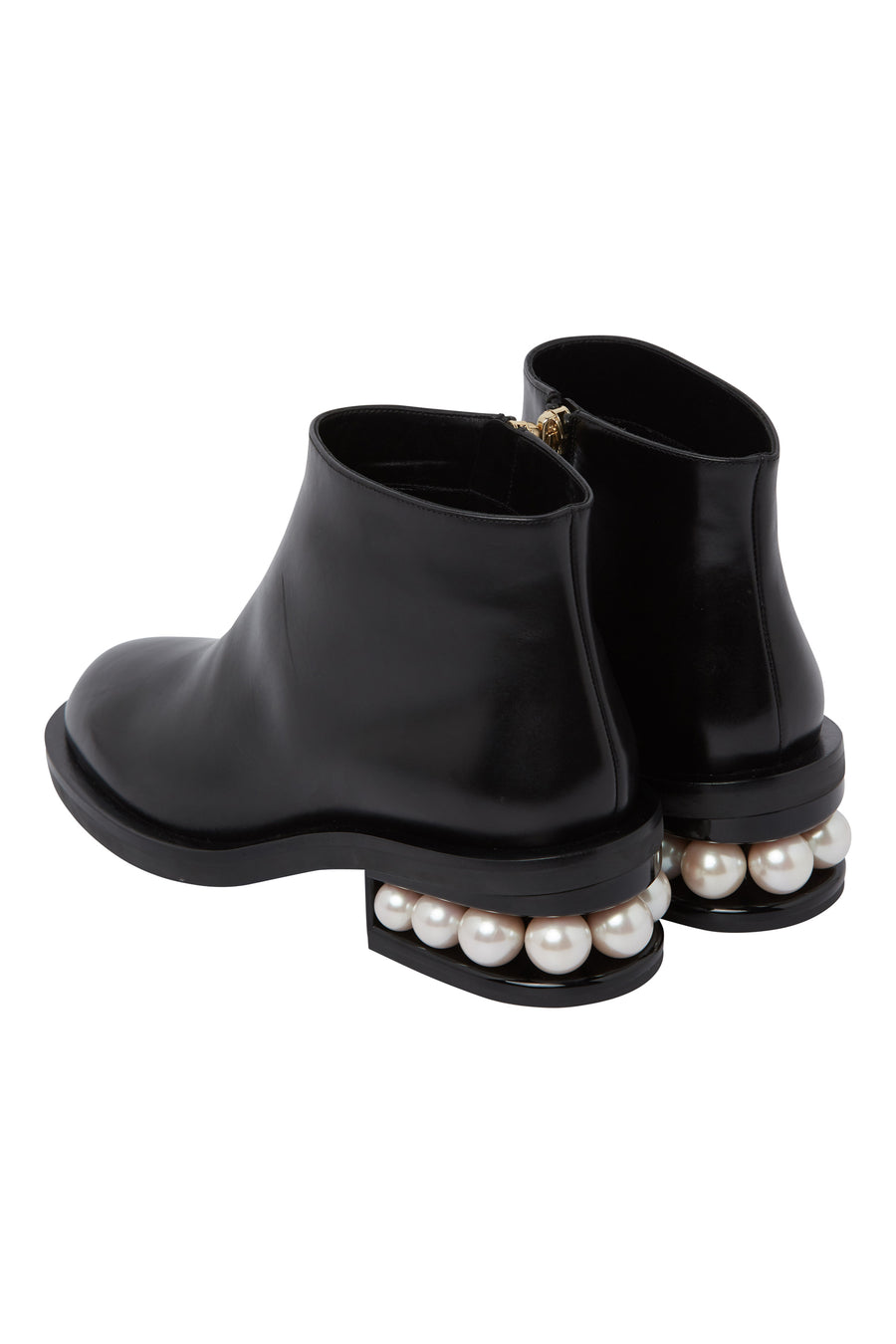 Nicholas Kirkwood Casati Pearl Ankle Boots in black from The New Trend Default