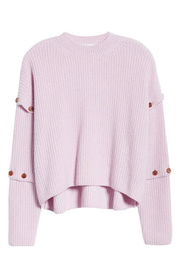 A.L.C.Adams Button Sleeve Sweater Flatlay at The New Trend