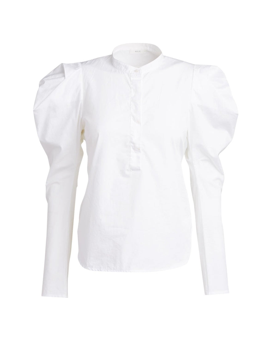 A.L.C. Hudson Long Sleeve Top White from The New Trend