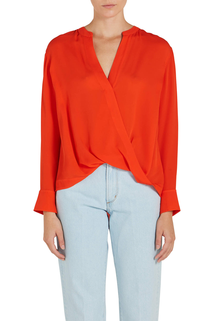 A.L.C Luca Drape Front Top from The New Trend