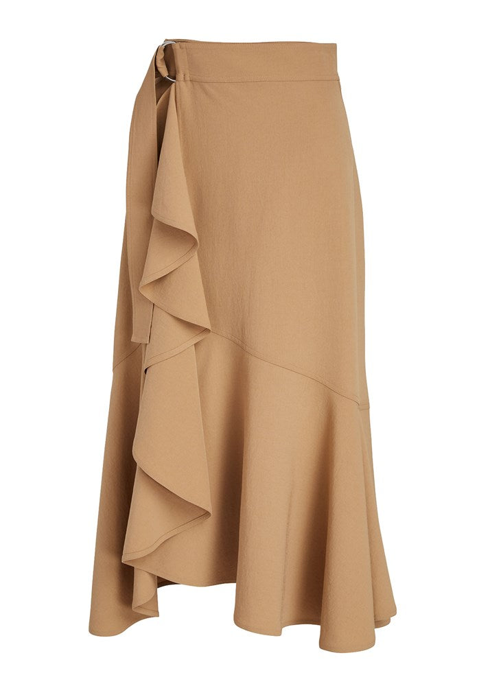 A.L.C. Pierre Midi Skirt in Beech from The New Trend