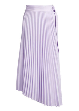 A.L.C. Arielle Pleated Midi Skirt in Chuckoo from The New Trend