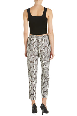 A.L.C. Elijah Snake Print Pant from The New Trend Back View