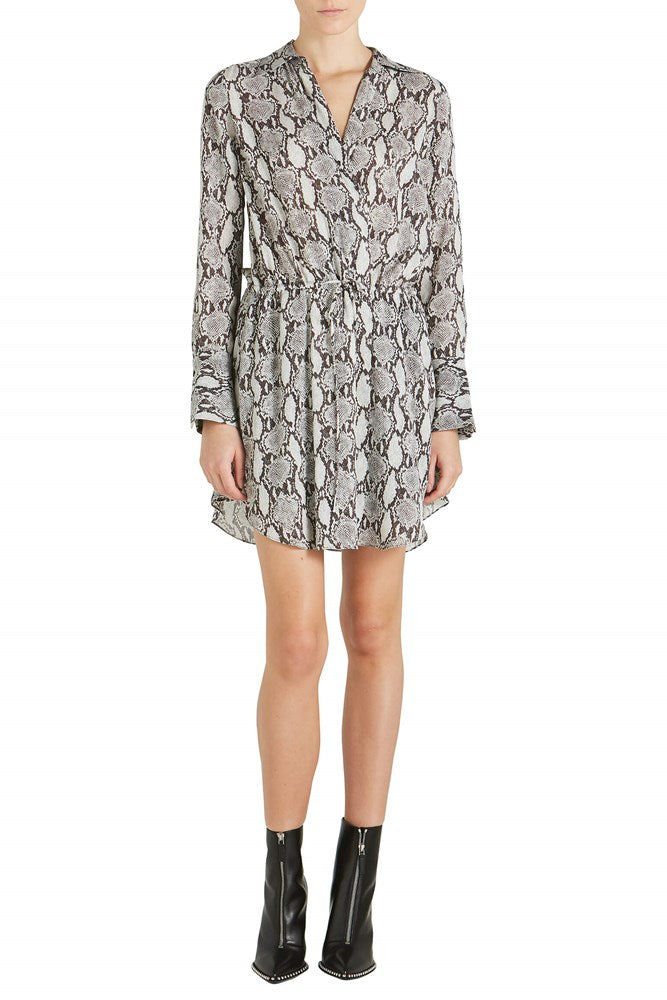 A.L.C. Isobel Snake Print Dress from The New Trend