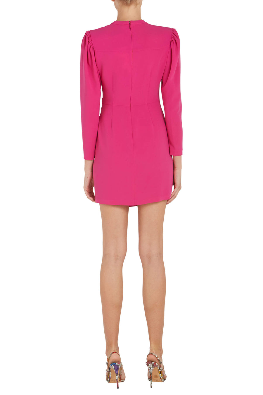 Jane Dress in Shocking Pink from The New Trend