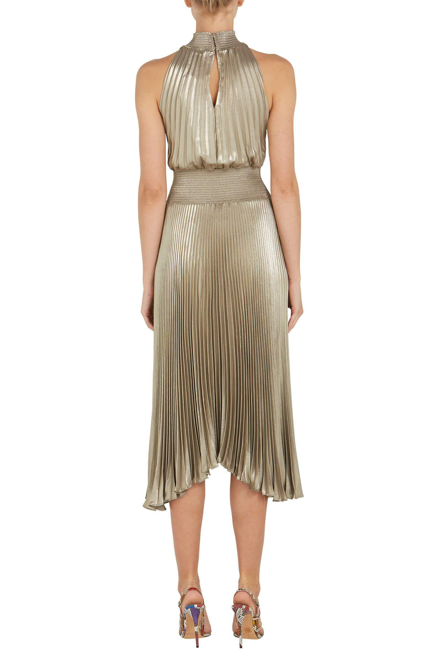 A.L.C. Renzo Dress in Antique Gold from The New Trend