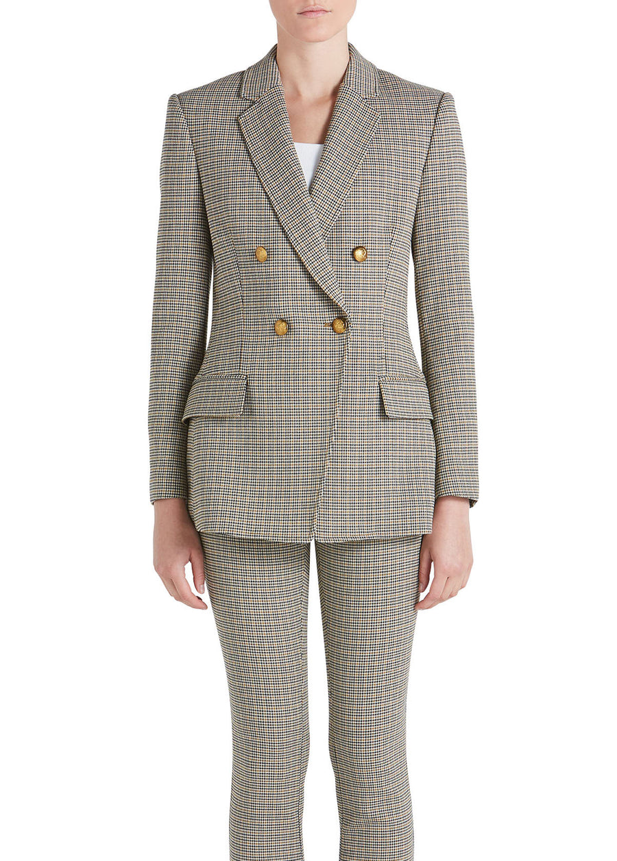 SEDGWICK PLAID JACKET