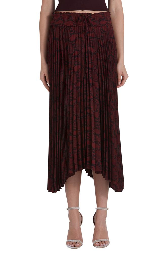 MAYA PLEATED SKIRT