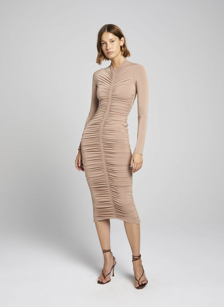 ALC Ansel Dress in Buff from The New Trend