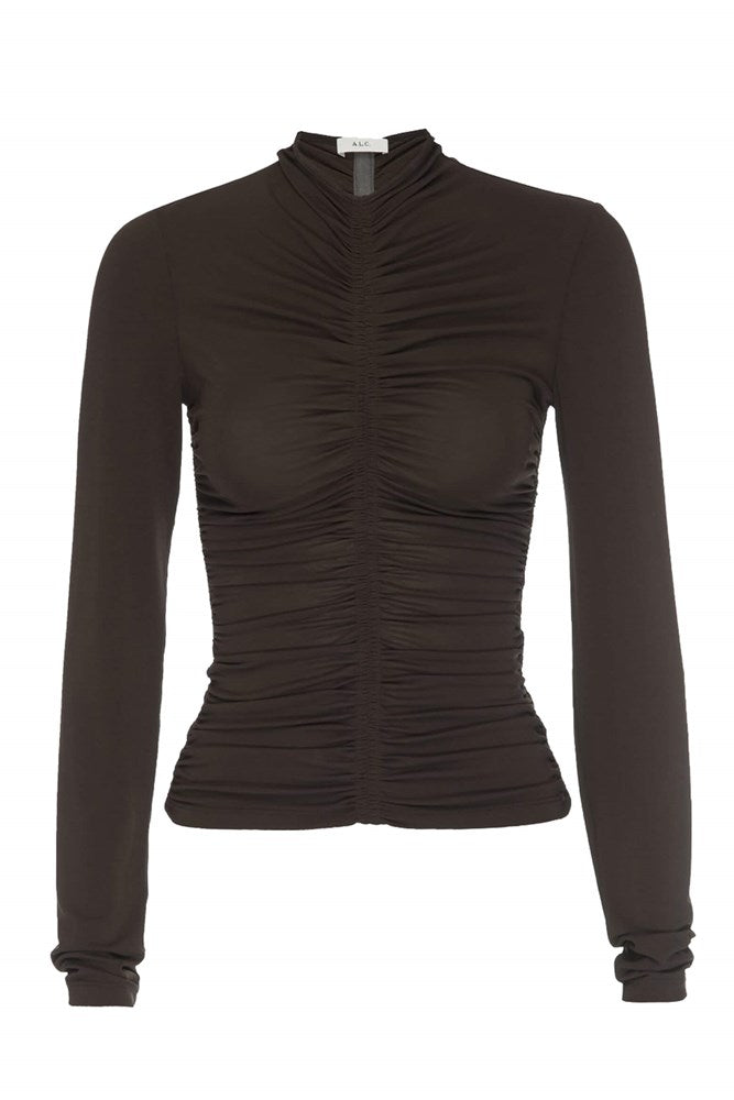 A.L.C Ansel Top in Brown from The New Trend