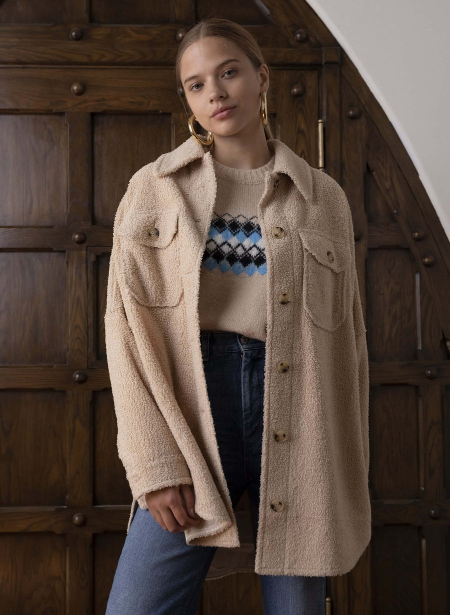A.L.C Carmbrie Jacket in Bonito from The New Trend