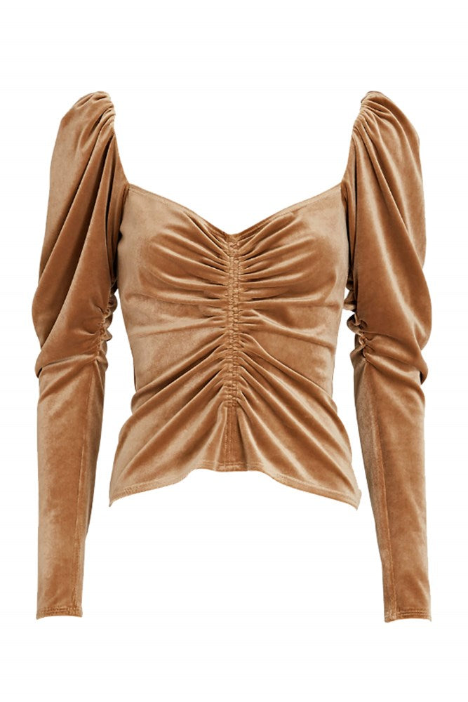 ALC Chamberlain Top in Toffee from The New Trend