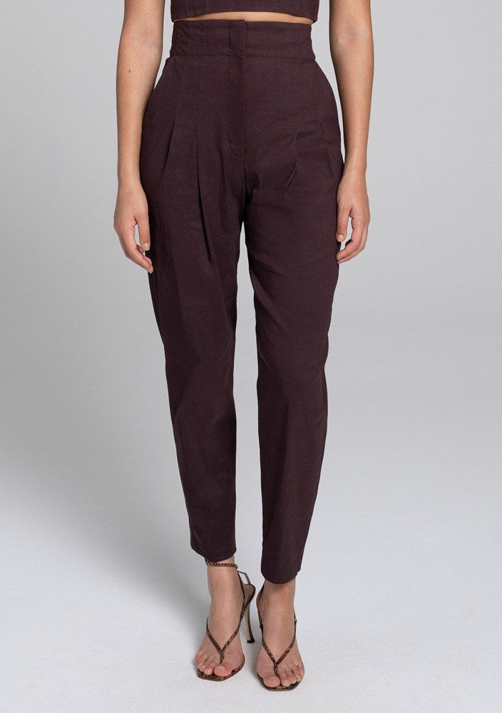 A.L.C Davon Pant in Medjool from The New Trend
