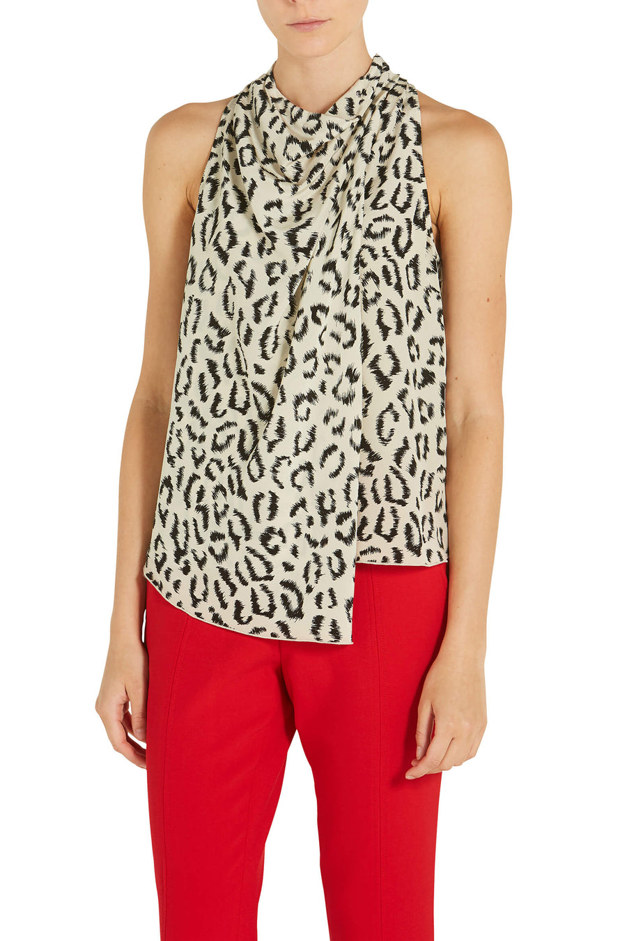 A.L.C. Ella Printed Top in Graphic Leopard from The New Trend