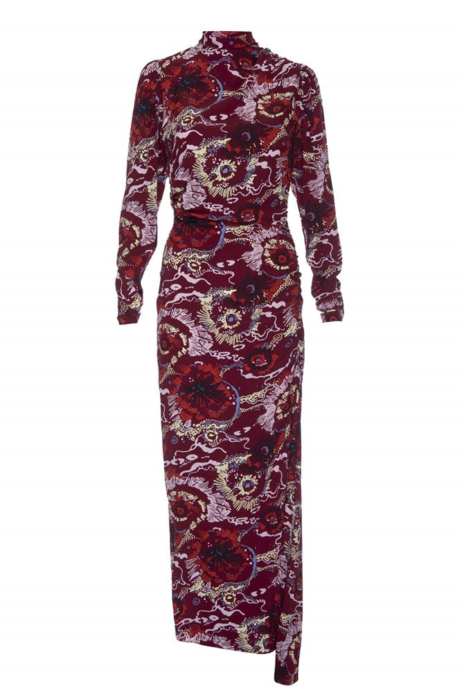 A.L.C Isabella Dress in Bordeaux Multi from The New Trend