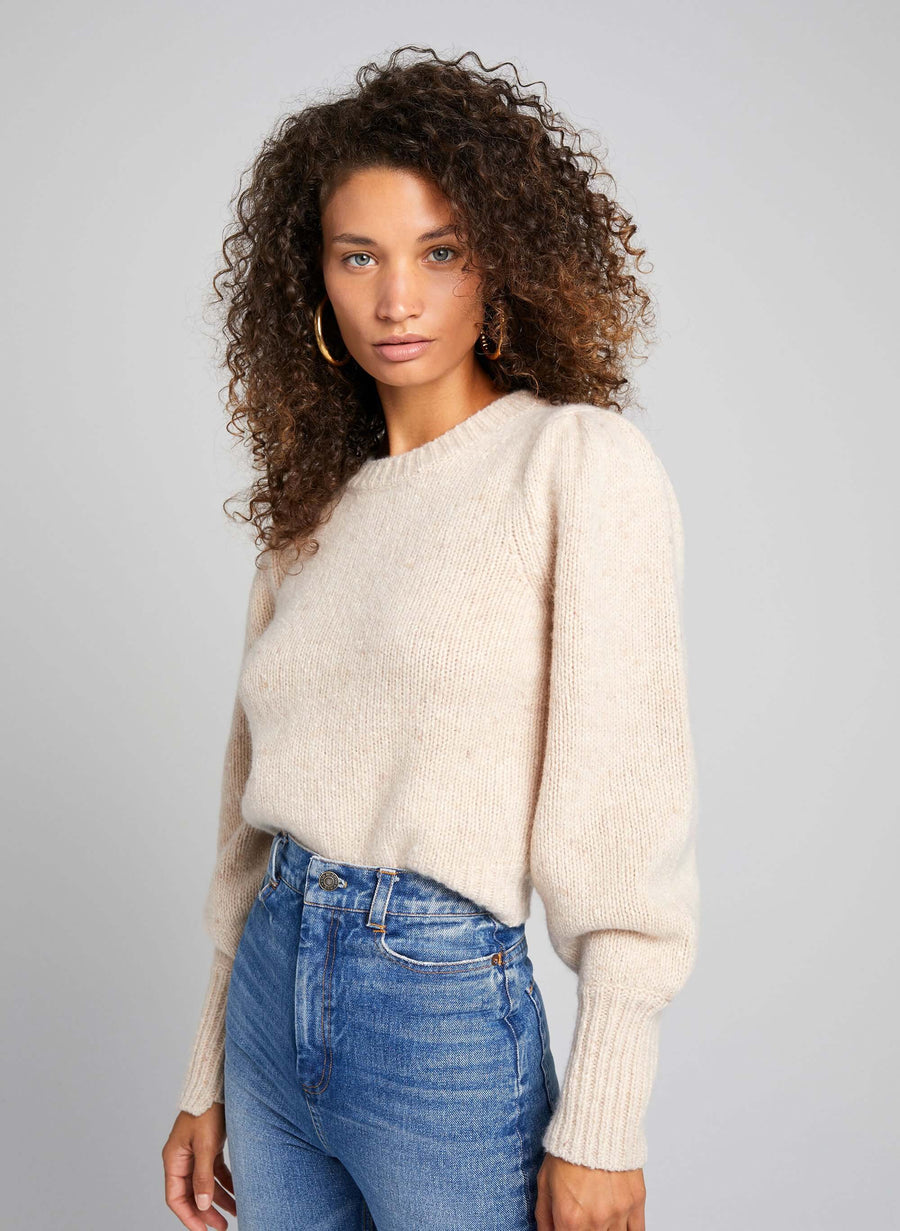 A.L.C Kari Sweater in Cream from The New Trend