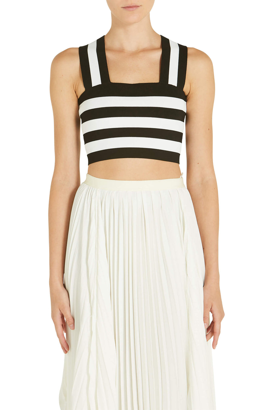 ALC Tia Top Black and White Stripe from The New Trend