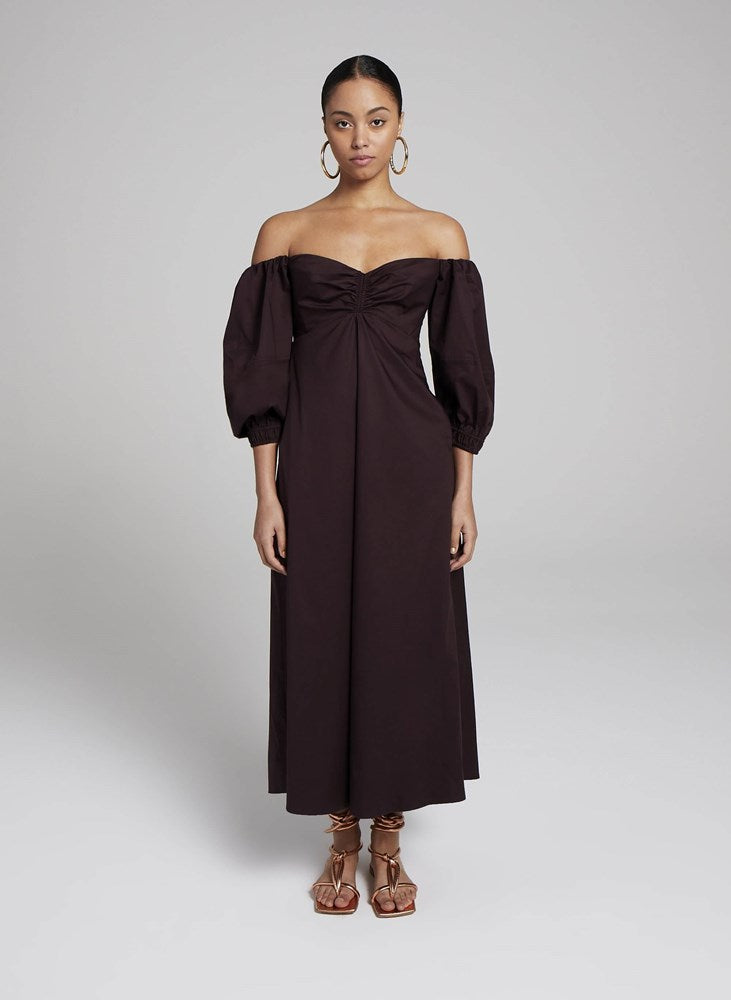 ALC Lisbeth Dress in Medjool from The New Trend