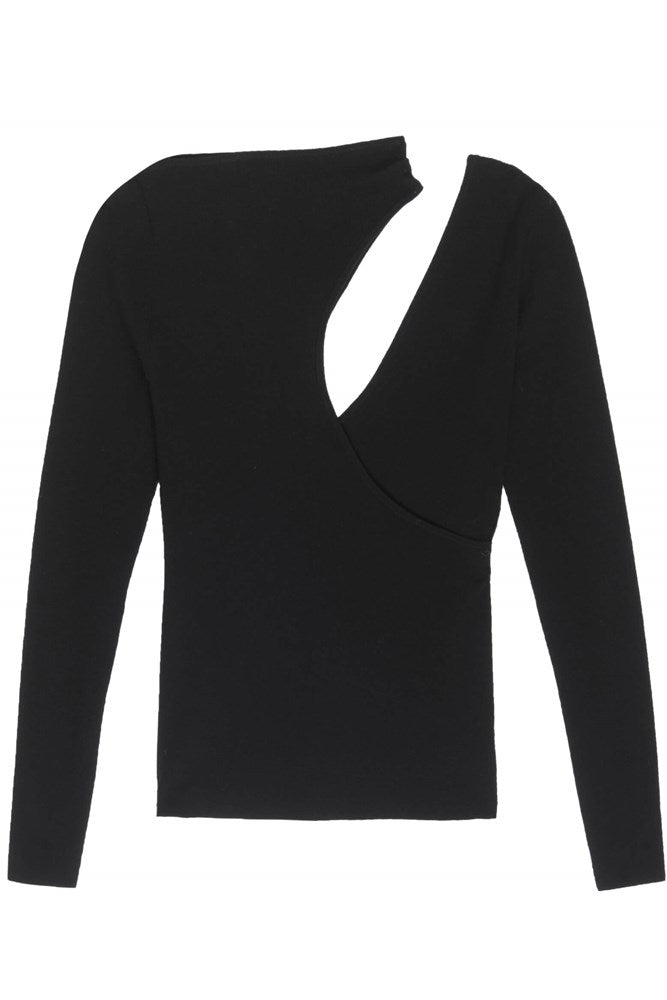 ALC Paquin Top in Black from The New Trend