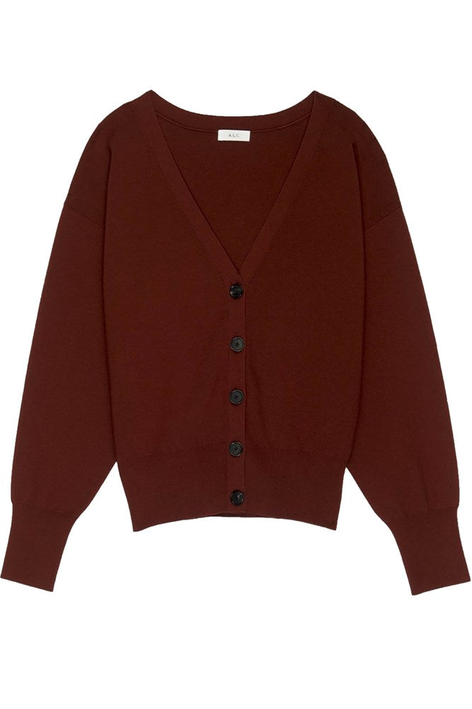 A.L.C Peters Cardigan in Sumac from The New Trend