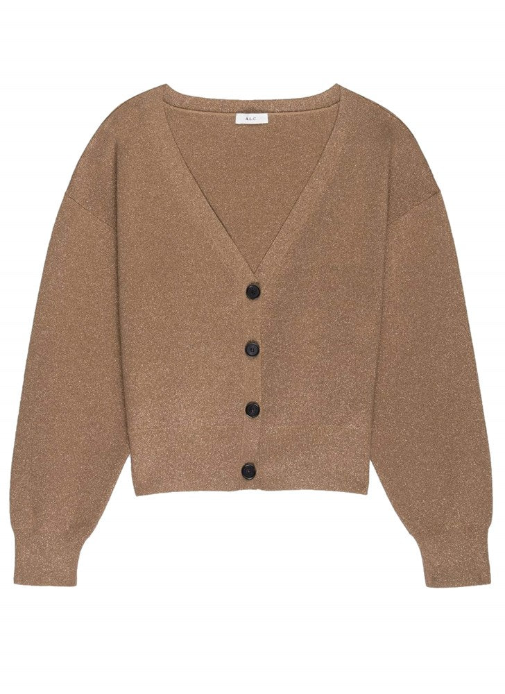 ALC Peters Cardigan in Toffee and Rose Gold from The New Trend