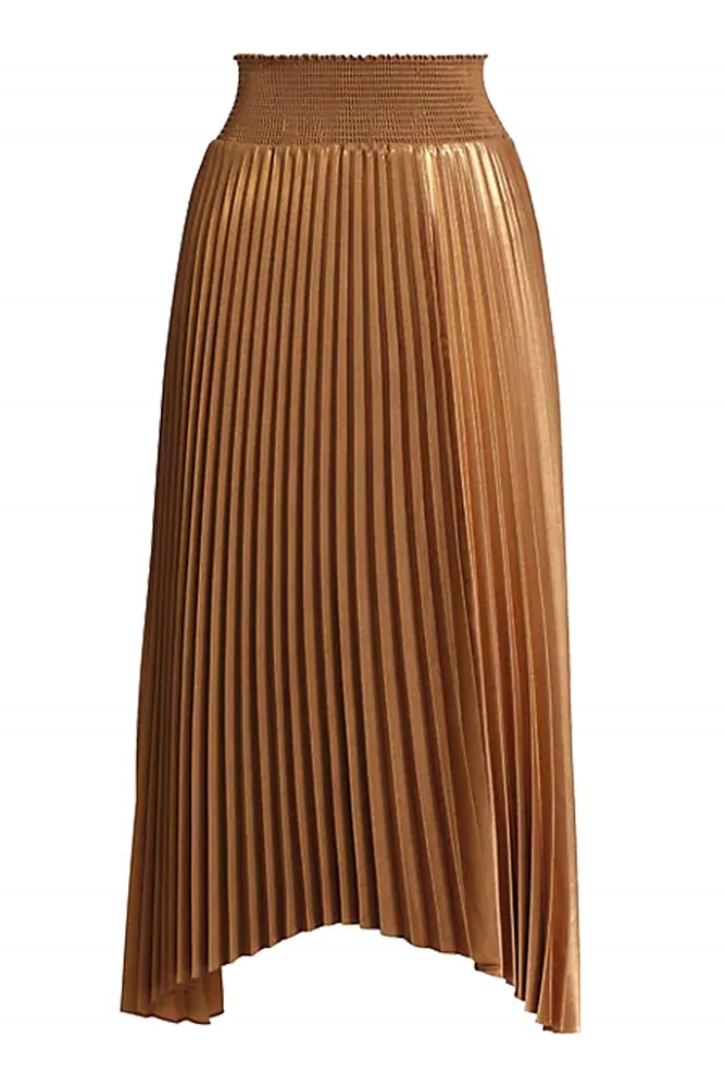 ALC Sonali Skirt in Bronze Copper from The New Trend