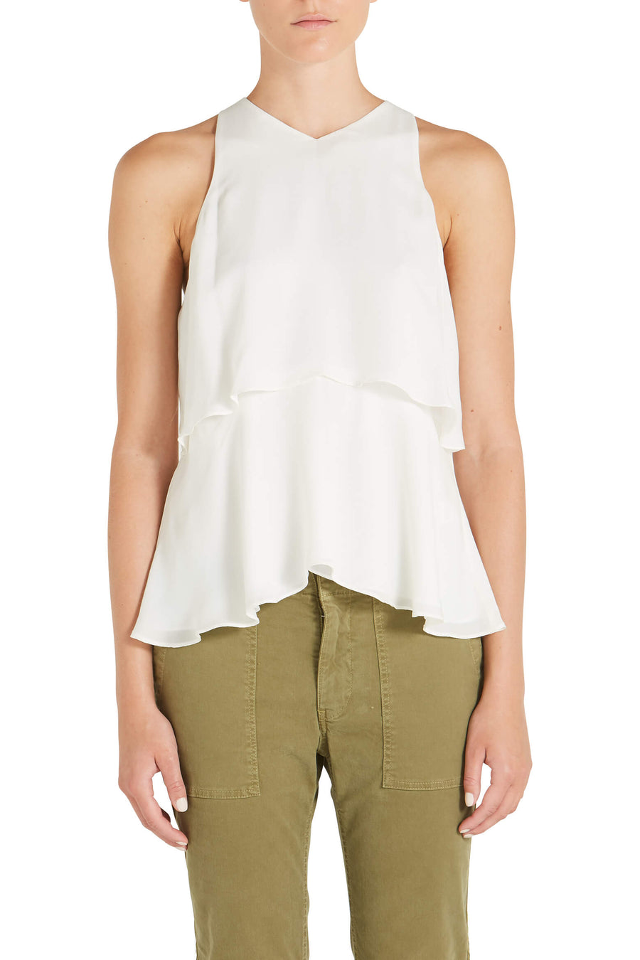 A.L.C Duran Sleeveless Top Ivory The New Trend