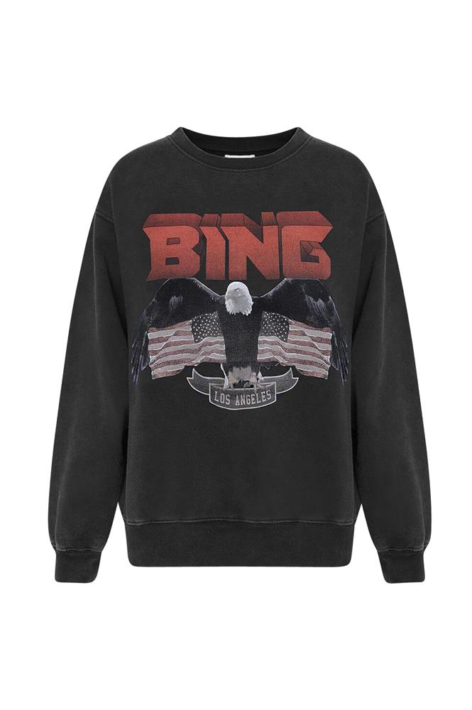 Anine Bing Vintage Bing Sweatshirt from The New Trend