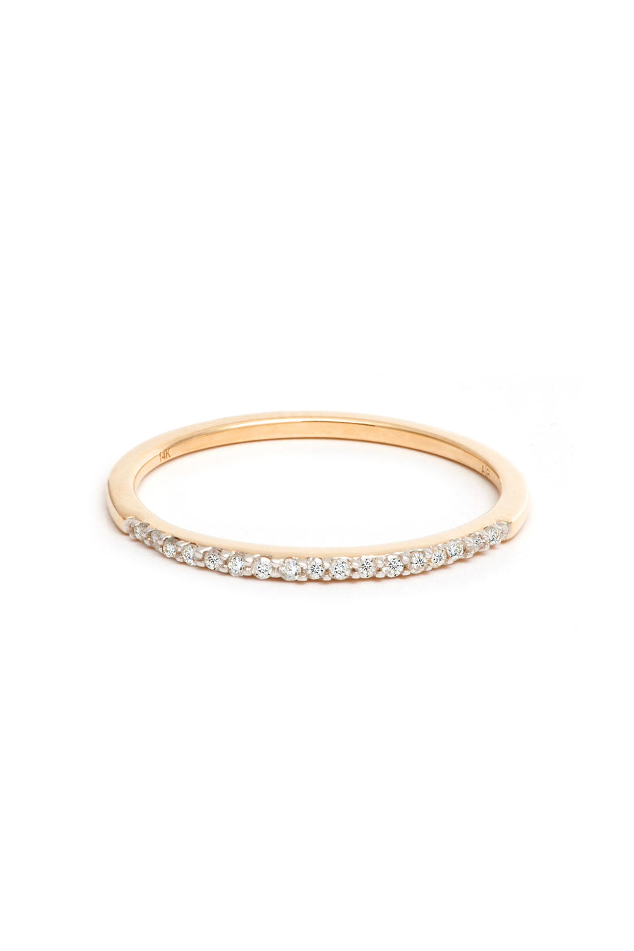 PAVE BAND RING Y14