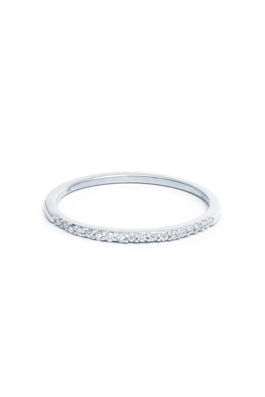 PAVE BAND RING W14