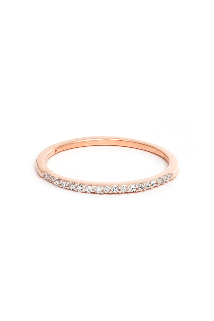 PAVE BAND RING R14