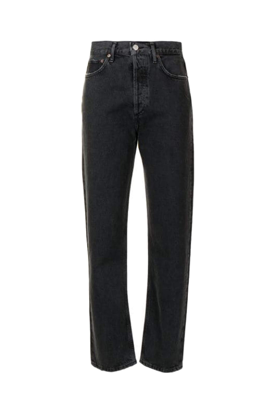 Agolde 90's Pinch Waist Jean in Black Tea from The New Trend