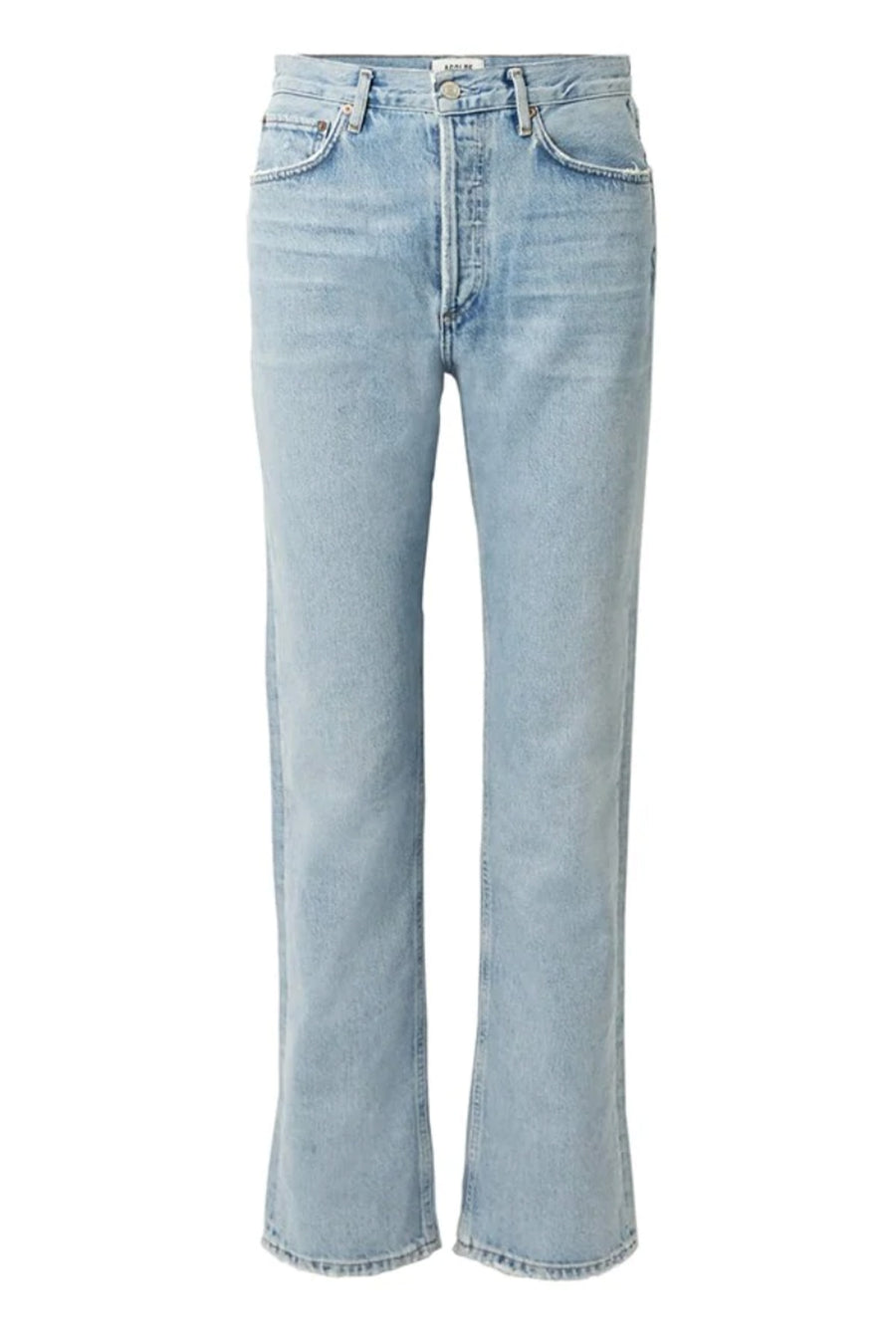 Agolde Lana Vintage Straight Jean in Riptide from The New Trend