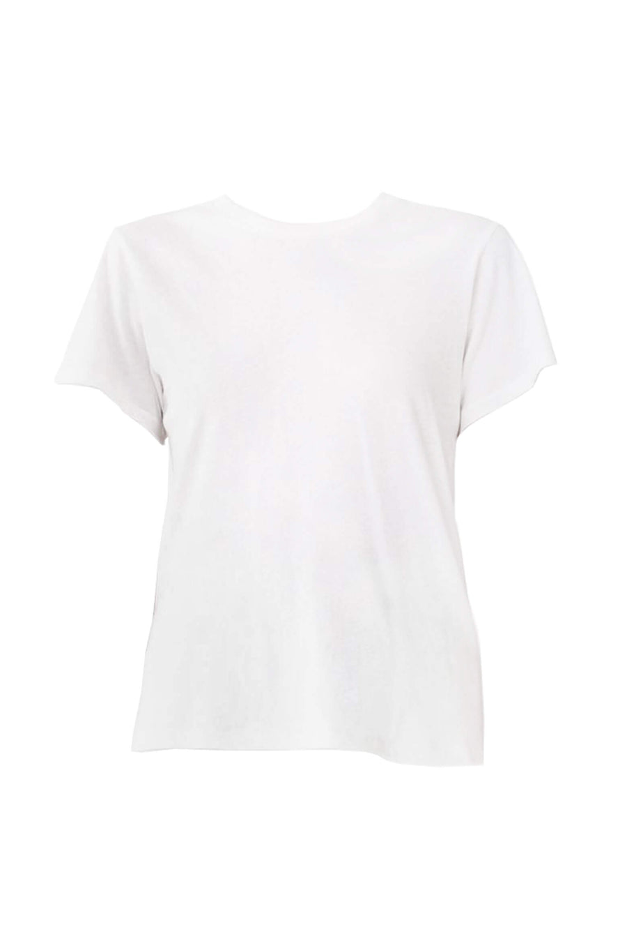 Agolde Mariam Tee in white from The New Trend online