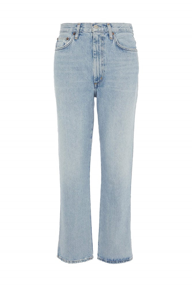 Agolde Pinch Waist Jean in Riptide from The New Trend