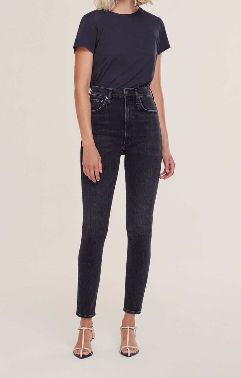Agolde Pinch Waist Skinny Jean in Hotline from The New Trend