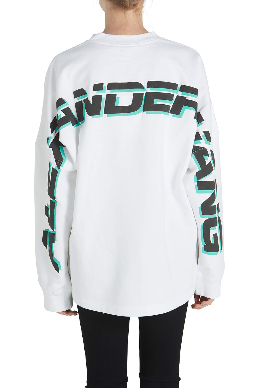 T By Alexander Wang Dry French Terry Crewneck Sweatshirt