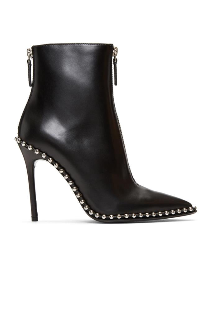 ERI BLACK LEATHER BOOT