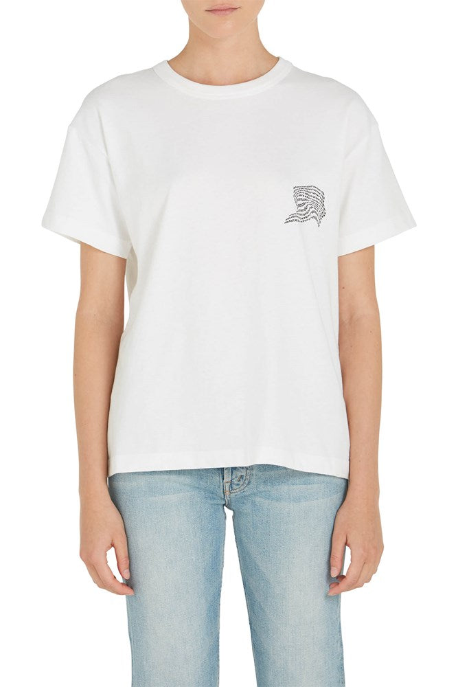 T by Alexander Wang High Twist Jersey S/S Tee from The New Trend