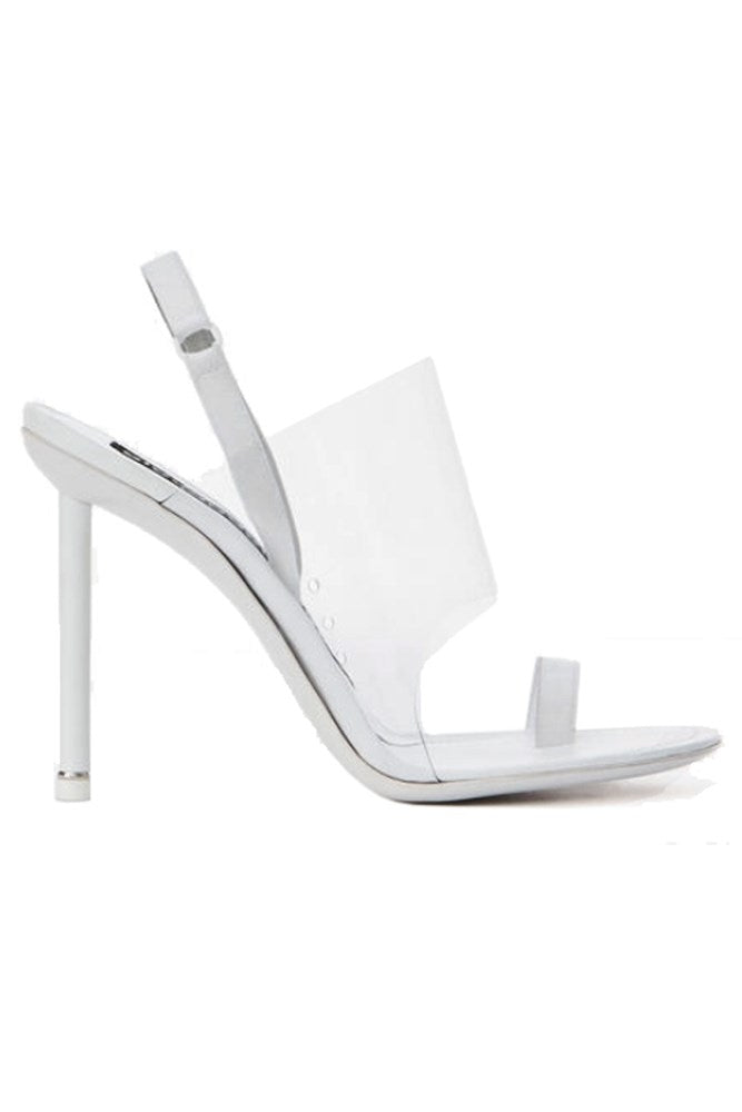 Alexander Wang Kaia Slingback White from The New Trend