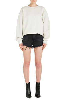 DENSE FLEECE CREWNECK SWEATSHIRT